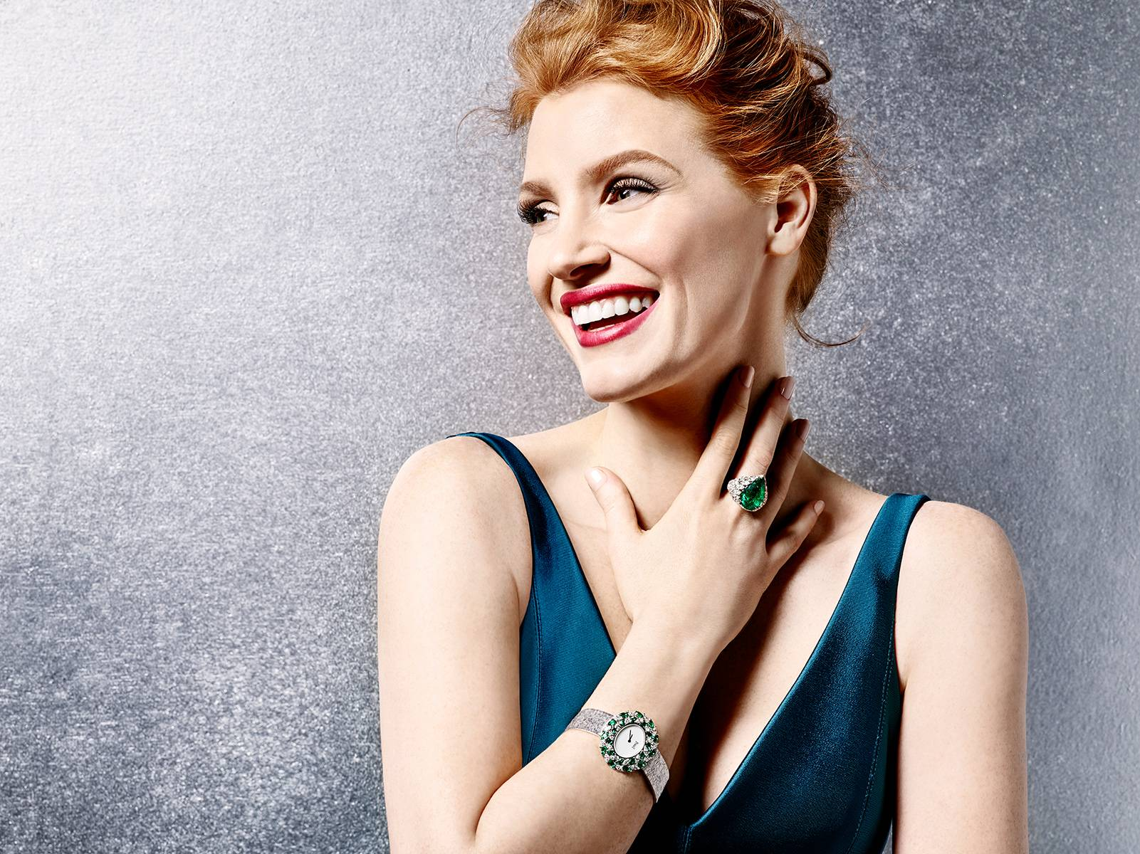 Jessica Chastain - James White Photoshoot 2016 for Piaget