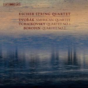 Escher String Quartet - Dvořák: String Quartet No. 12; Tchaikovsky: String Quartet No. 1; Borodin: String Quartet No. 2 (2018)