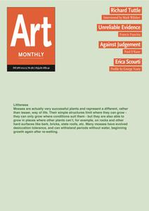 Art Monthly - Dec-Jan 2014-15   No 382