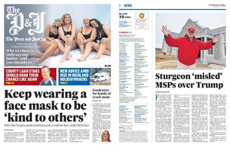 The Press and Journal Moray – July 15, 2021