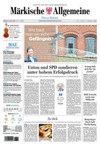 Märkische Allgemeine Dosse Kurier - 08. Januar 2018