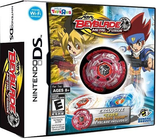 Beyblade Metal Fusion - Cyber Pegasus (2010) [NDS Game]