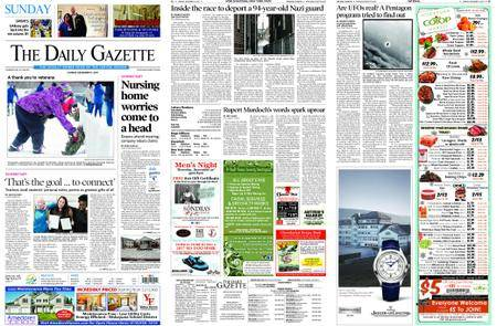 The Daily Gazette – December 17, 2017