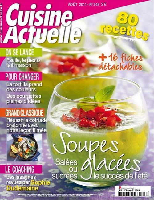 Cuisine Actuelle No.248 - Août 2011