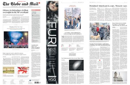 The Globe and Mail – January 01, 2019