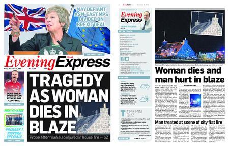 Evening Express – November 16, 2018