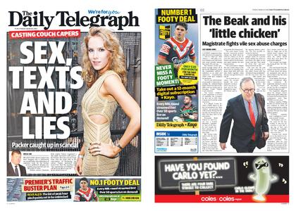 The Daily Telegraph (Sydney) – March 08, 2019