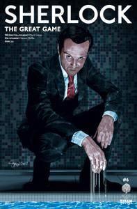 Sherlock - The Great Game 06 of 06 2018 2 covers digital dargh-Empire