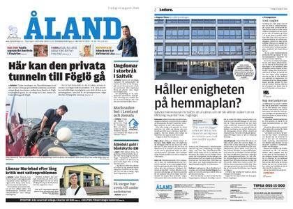 Ålandstidningen – 10 augusti 2018