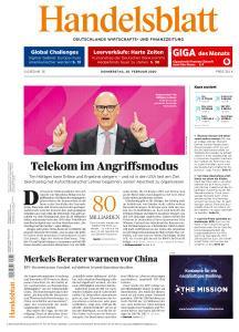 Handelsblatt - 20 Februar 2020