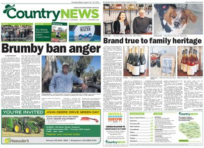 Country News – August 20, 2019