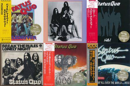 Status Quo: Collection. 4 x Deluxe Edition Albums + 2DVDs (1973-2016)