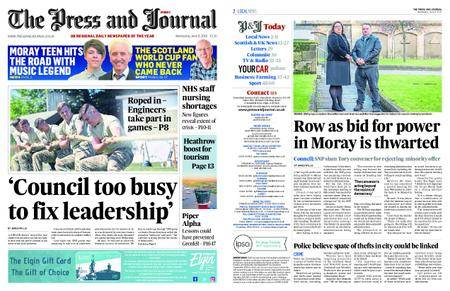 The Press and Journal Moray – June 06, 2018