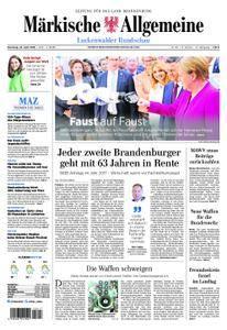 Märkische Allgemeine Luckenwalder Rundschau - 24. April 2018
