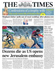The Times - 15 May 2018