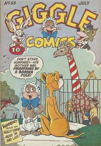 Giggle Comics 055 ACG Jul 1948 c2c titansfan+Conan the Librarian