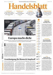 Handelsblatt - 22 Dezember 2020