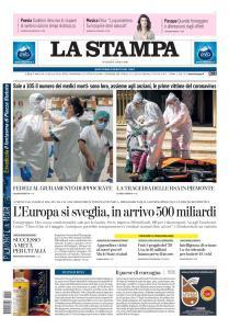 La Stampa Torino Provincia e Canavese - 10 Aprile 2020