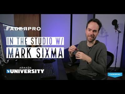 Armada University - In The Studio Mark Sixma (2019)