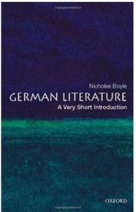 German Literature: A Very Short Introduction [Repost]
