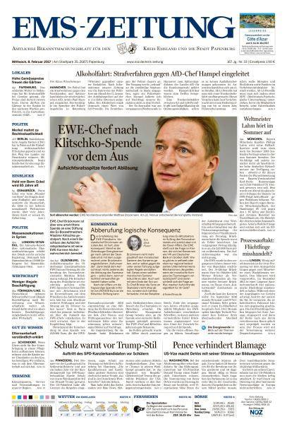 Ems-Zeitung - 8 Februar 2017