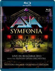 Asia - Symfonia: Live in Bulgaria 2013 (2017) [BDRip, 1080p]