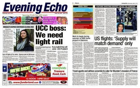 Evening Echo – April 04, 2018