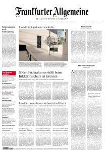 Frankfurter Allgemeine Zeitung - 20 Oktober 2020