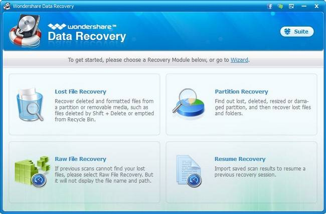 Wondershare Data Recovery 5.0.8.5 Multilingual + Portable
