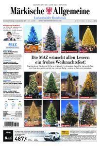 Märkische Allgemeine Luckenwalder Rundschau - 23. Dezember 2017