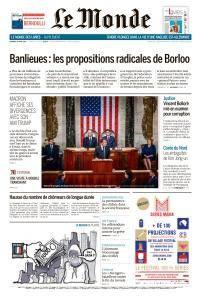 Le Monde du Vendredi 27 Avril 2018