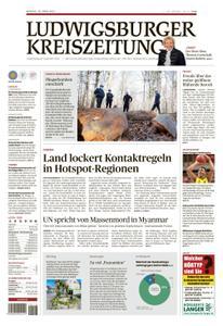 Ludwigsburger Kreiszeitung LKZ - 29 März 2021