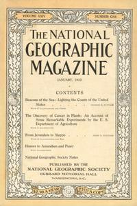 National Geographic January 1913
