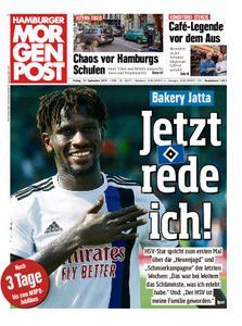 Hamburger Morgenpost – 13. September 2019