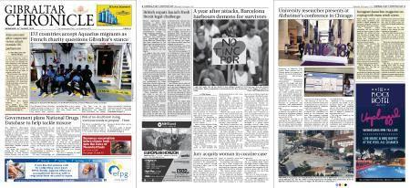 Gibraltar Chronicle – 15 August 2018