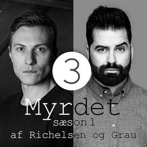 «Myrdet af Richelsen og Grau S1E3 - Andrew Cunanan og John Wayne Gacy» by Sebastian Richelsen,Anders Grau