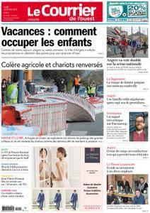 Le Courrier de l'Ouest Angers - 22 février 2018