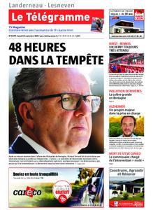 Le Télégramme Landerneau - Lesneven – 14 septembre 2019