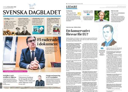 Svenska Dagbladet – 15 december 2018