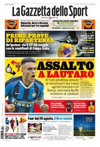 La Gazzetta dello Sport Roma – 16 aprile 2020