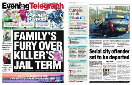 Evening Telegraph First Edition – February 02, 2018