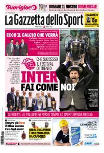 La Gazzetta dello Sport Roma – 13 ottobre 2018