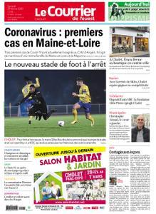 Le Courrier de l'Ouest Cholet – 29 février 2020