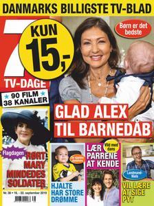 7 TV-Dage – 16. september 2019