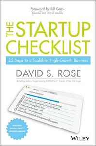 The Startup Checklist: 25 Steps to a Scalable, High-Growth Business (repost)