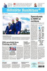 Kölnische Rundschau Köln-West – 27. Oktober 2020