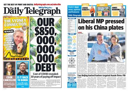 The Daily Telegraph (Sydney) – July 23, 2020