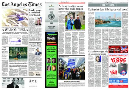 Los Angeles Times – April 08, 2019