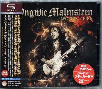 Yngwie Malmsteen - World On Fire (2016) [Japan SHM-CD]
