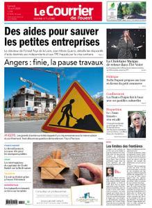 Le Courrier de l'Ouest Angers – 18 avril 2020